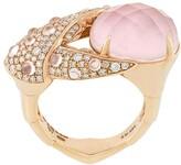 Stephen Webster 18kt rose gold, opal and diamond Crab Pincer Crystal Haze ring