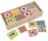 Melissa & Doug ; Number Puzzles