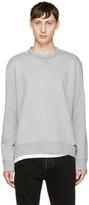 Valentino Grey Safety Pin Sweatshirt