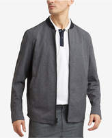 Kenneth Cole Reaction Men's Mesh Full-Zip Tech Bomber Jacket