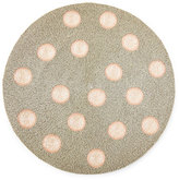 Joanna Buchanan Coral Dot Beaded Placemat