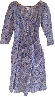 agnès b. Blue Cotton Dress for Women Vintage