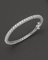 Diamond Tennis Bracelet in 14 Kt. White Gold, 8.0 ct. t.w.