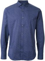 Kent & Curwen patterned long sleeve shirt
