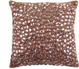 Aviva Stanoff Jewel Bed Cushion 25x25cm - Cocoa