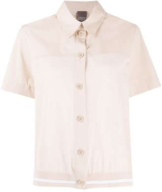 Lorena Antoniazzi Button-Down Knit Shirt