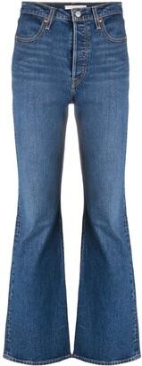 Levi's Ribcage high-waist bootcut jeans