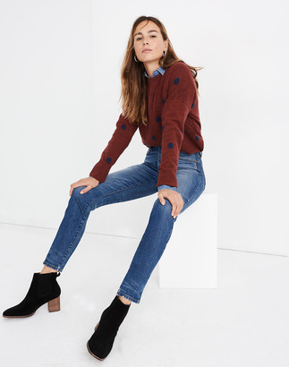 "Madewell Rivet & Thread 11"" High-Rise Skinny Jeans"