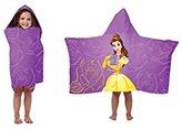 Disney Beauty and the Beast Belle Hooded Towel for Bath, Beach, Pool