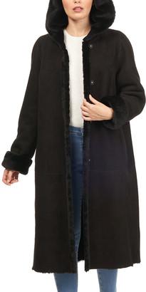 HiSO Reversible Lamb Shearling Short Coat