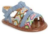 Sam Edelman Infant Girl's Baby Noa Woven Sandal