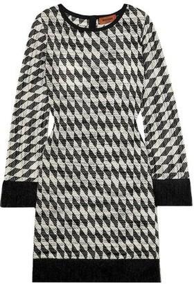 Missoni Metallic Cotton-blend Jacquard Mini Dress