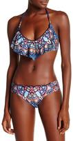 Lucky Brand Layla Ruffle Bikini Top