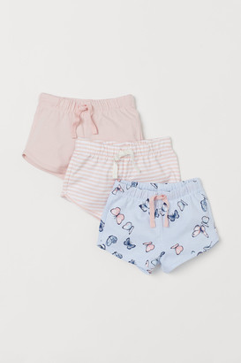 H&M 3-pack Jersey Shorts