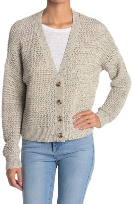 Madewell Marled Hartley Cardigan Sweater