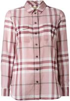 Burberry 'House Check' shirt - women - Cotton - L