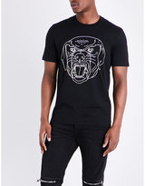 Givenchy Rottweiler-logo Cotton-jersey T-shirt