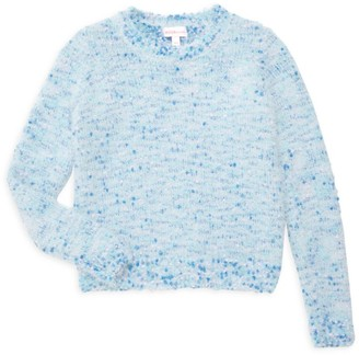 Design History Little Girl's & Girl's Heathered Sweater