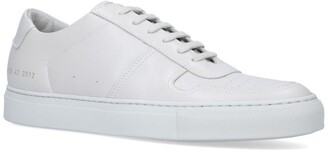 Common Projects Leather Bball Low-Top Sneakers