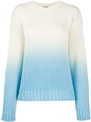 Alanui Wave Life ombre knit jumper