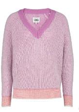 CKS - Taitum Violet V Neck Sweater - XS . | violet | Polyamide - Violet