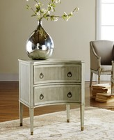 The Well Appointed House Modern History Painted Gustavian Bedside Chest in Antique Grey or White