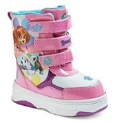 Nickelodeon Paw Patrol Skye Girls Winter Snow Boots Pink Size L 9/10