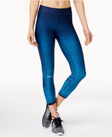 Under Armour Printed Compression Ankle Leggings