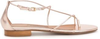 Emme Parsons string ankle strap sandals