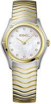 Ebel ladies' two tone bracelet watch