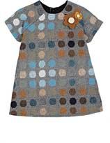 Isabel Garreton Dot-Pattern Tweed Dress & Bloomers