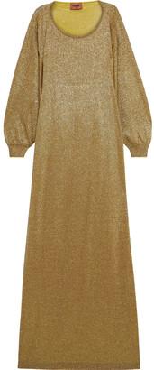 Missoni Metallic Stretch-knit Maxi Dress