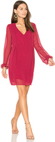 BCBGeneration Bow Dress in Red
