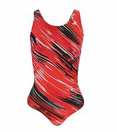 adidas Diagonal Brush Stroke Gamma Back One Piece Swimsuit 45999