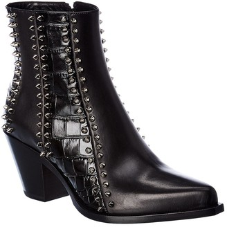 Christian Louboutin My Guitar Donna Leather Ankle Boot