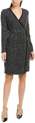 Donna Karan Faux Wrap Dress