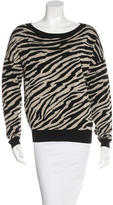 Diane von Furstenberg Zebra Patterned Sweater