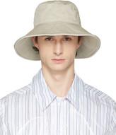 Acne Studios Beige Bob Explorer Bucket Hat