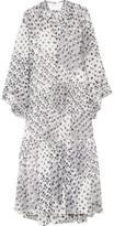 See by Chloe Tiered Printed Georgette Dress - FR36