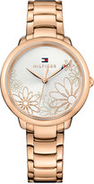 Tommy Hilfiger Women's Rose Gold-Tone Bracelet Watch 36mm 1781780, a Macy's Exclusive Style
