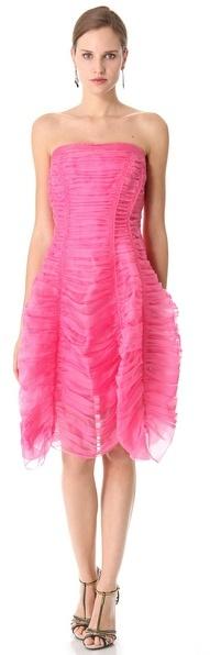 Donna Karan Crushed Suspended Halter Dress