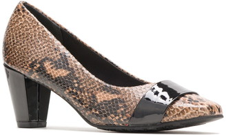 Hush Puppies Mabry Snake Print Faux Leather Pump - Wide Width Available