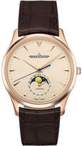 Jaeger Le Coultre Q1362520 Master Moon Phase Stainless Steel And Alligator Leather Watch