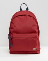 Lacoste Backpack In Red