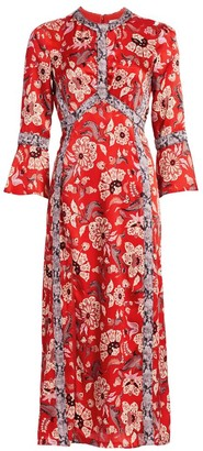 Cinq à Sept Smyth Floral Midi Dress