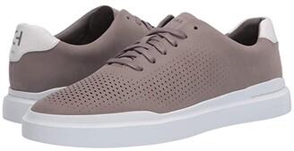 Cole Haan Grandpro Rally Laser Cut Sneaker (Smoke Blue/Khaki/White) Men's Shoes