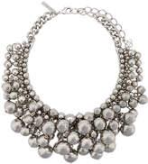 Oscar de la Renta bold beaded necklace