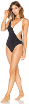 Clube Bossa Collins Swimsuit in Black & White. - size M (also in XS)