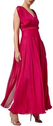 Phase Eight Arwen Silk Drape Gown
