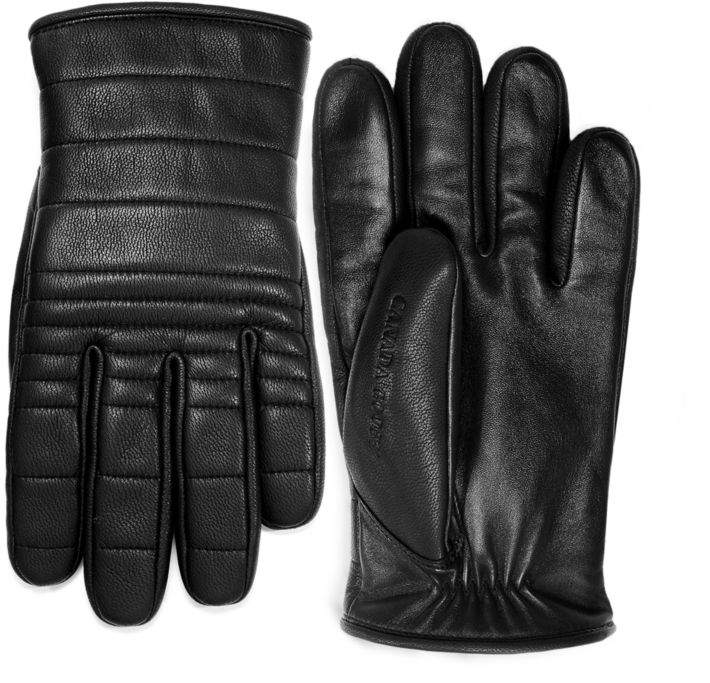 Quilted Luxe Leather Gloves